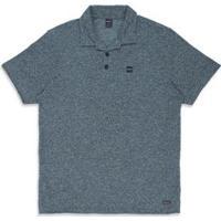 Camisa Polo Reflective Oakley - Masculino-Azul