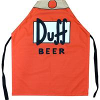 Avental Duf Beer Em Canvas 75 X 60 Cm
