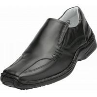 Sapato Social Alcalay Relax Conforto - Masculino-Preto
