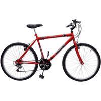 Bicicleta 26 Ultra Aço 18 Marchas - Unissex