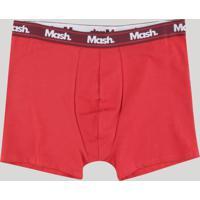 Cueca Boxer Mash Vermelha