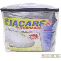 Capa De Carro - Bezi - S5-Blazer/Asx/Captiva/Freemont/Pajero Full - Jacaré - Impermeável - 100% Forrada - Cinza - Cada (Unidade) - Suv_I