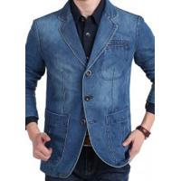Blazer Jeans Masculino Istanbul - Azul Claro