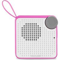 Caixa De Som Mini Bluetooth Speaker 5W Rosa Multilaser Sp311