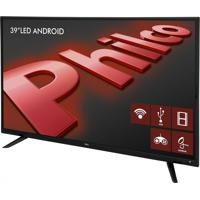 "Tv Led 39"" Preto Philco Bivolt Ph39E60Dsgwa"