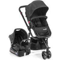 Carrinho Com Bebê Conforto Mobi Travel System Preto - Safety 1St