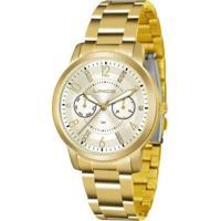 Relógio Feminino Lince Lmql070L/C2Kx - Unissex-Dourado