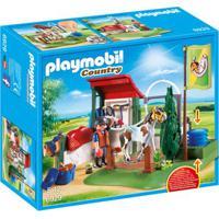 Playmobil Country - Estábulo Com Bomba D'Água - 6929 - Sunny