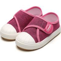Tênis Pimpolho Infantil Recortes Rosa