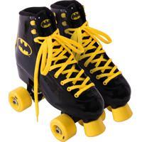 Patins Roller Quad Batman - 37 Belfix Preto