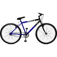 Bicicleta Master Bike Aro 26 Pop Azul/Preto