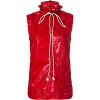 Calvin Klein 205W39Nyc Suéter Com Cordão - Vermelho