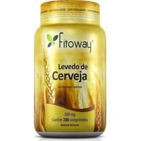 Levedo De Cerveja 500Mg - 200 Comprimidos - Fitoway