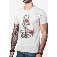 Camiseta Flower Anchor 0270