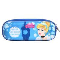 Estojo Princesa Disney Cinderella Dreams Eva | Cor: Azul