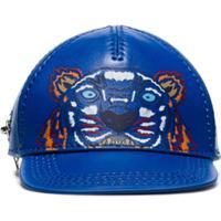 Kenzo Porta-Moedas Com Forma De Boné - Azul