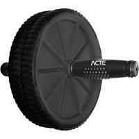 Roda Para ExercãCios- Cinza Escuro & Preta- Ø22X23Cmacte