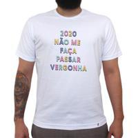 2020 Não Me Faça - Camiseta Clássica Masculina