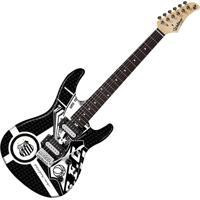Guitarra Elétrica Strato Gtu-1 Santos Com 2 Captadores Humbucker E Ponte Tremolo - Waldman
