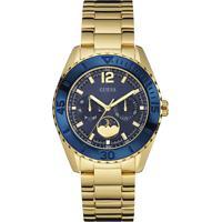 Relógio Guess Feminino Aço Dourado - W0565L4