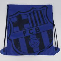Bolsa De Ginástica Barcelona Azul