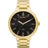 485fe5d8b2c Relógio Euro Feminino Metal Trendy Eu2036Lyt 4F - Dourado