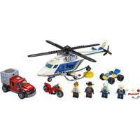 Lego City 60243 Perseguição Policial De Helicóptero - Lego