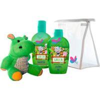 Kit Shampoo + Colônia Delikad Kids Safari Hyppo - Unissex-Incolor