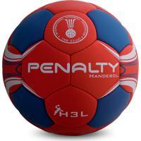 Bola Handebol Penalty Suécia H3L Pró C/C - Masculino