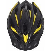 Capacete Ciclismo Bike Ahead Sports Asm001M Preto M