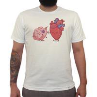 Razão Vs Emoção - Camiseta Clássica Masculina