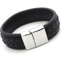 Pulseira Bracelete Vanglore 1208 Preta