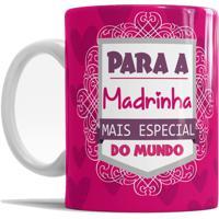 Caneca De Cerâmica Sude Presentes Madrinha Especial Pink