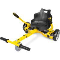 Go Kart - Carrinho Para Hoverboard - Aço - 1849 - Two Dogs Amarelo
