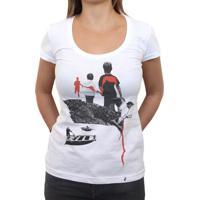 Run Forest Run - Camiseta Clássica Feminina
