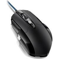 Mouse Gamer Pro Laser Usb 8 Botões 3200 Dpi Preto Multilaser