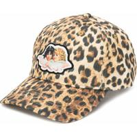 Fiorucci Boné Angel Com Estampa De Leopardo - Neutro