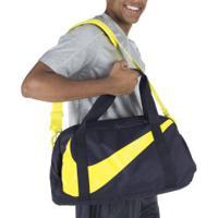 Mala Nike Gym Club - 25 Litros - Preto/Amarelo