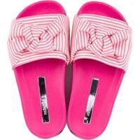 Chinelo Infantil Molekinha Slide Multi Feminino - Feminino-Pink