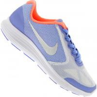Tênis Nike Revolution 3 Gs - Infantil - Azul Cla/Cinza Cla