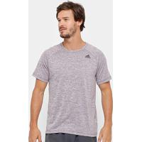Camiseta Adidas D2M Ht Masculina - Masculino-Bordô