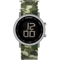 Relógio Mormaii Vibe Masculino - Masculino-Prata