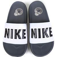 Chinelo Nike Offcourt Slide Masculino - Masculino-Cinza+Branco