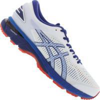 5010d46e174 Netshoes  Tênis Asics Gel Kayano 25 - Masculino - Branco Azul