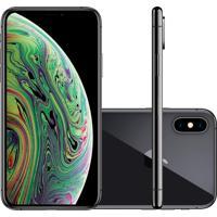 """Iphone Xs Apple Cinza Espacial 64Gb Tela Super Retina Hd 5.8"""" Câmera"""