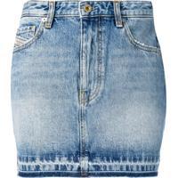 Diesel Saia Jeans - Azul