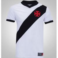 Camiseta Do Vasco Da Gama Expresso Da Vitória - Masculina - Branco/Preto