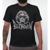 Black Beethoven - Camiseta Clássica Masculina