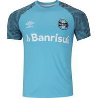 Camisa De Treino Do Grêmio 2018 Umbro - Masculina - Azul Claro b1645a08a58c1