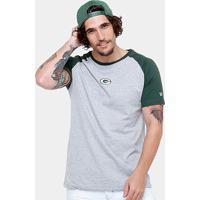 Camiseta Nfl Green Bay Packers New Era Team Mini Logo Masculina - Masculino